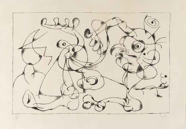 Joan Miró, 'Ubu Roi. Le Nobles a la Tràppe (Mourlot 410)', 1966, Forum Auctions