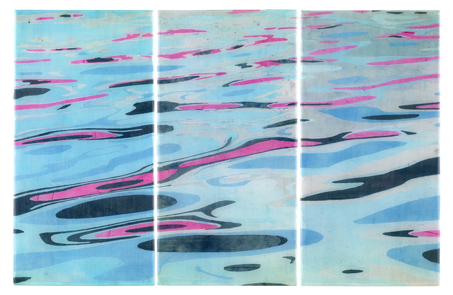 , 'Reflection (triptych),' 2018, Sloan Fine Art