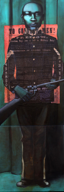 , 'Buffalo Soldier,' 2007-2009, Hudson Milliner Art Salon