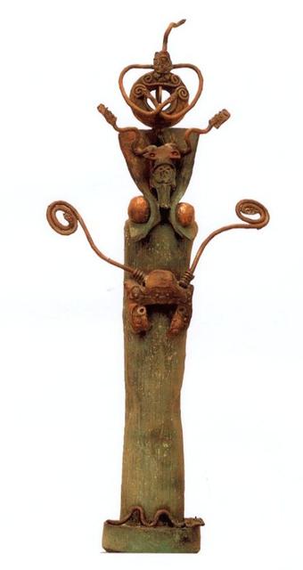 , 'Serpantin,' 1993, Fondazione Echaurren Salaris