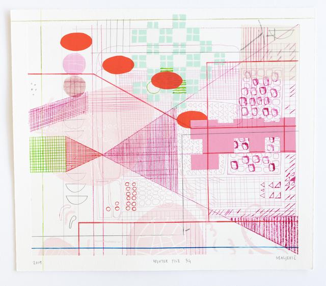 , 'Winter File 34,' 2019, David Krut Projects