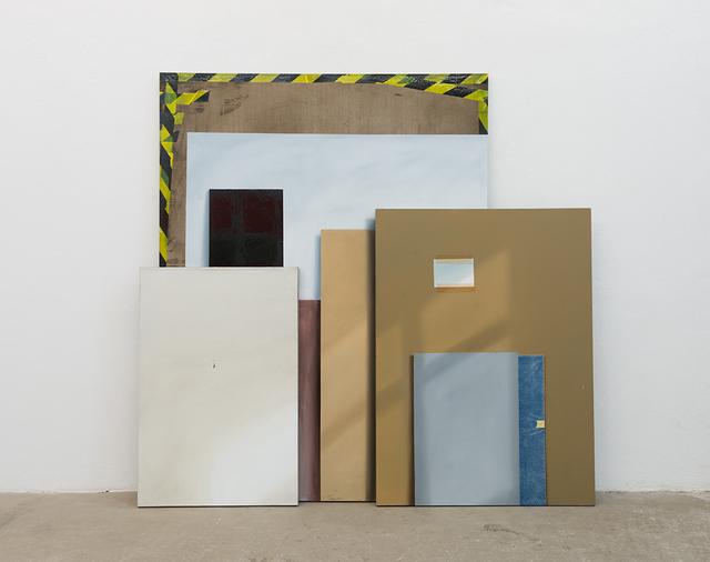 , 'Quadriennale Rohstoff, Triptychon IV,' 2015, ASPN