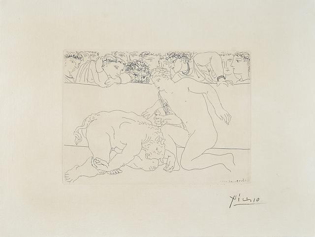 Pablo Picasso, 'Minotaure vaincu from from La Suite Vollard', 1933, Rago/Wright