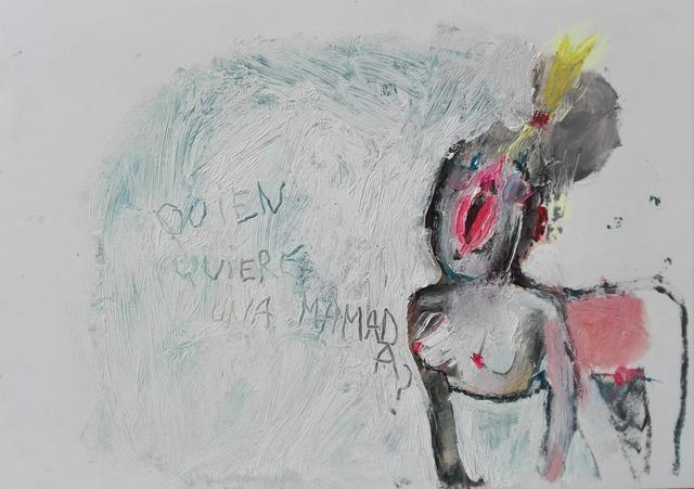 , ' Quien quiere una mamada?,' 2012, Freight + Volume