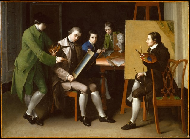Matthew Pratt, 'The American School', 1765, The Metropolitan Museum of Art