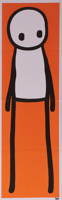 """Stik, 'Standing Figure', 2015, Print, Offset lithograph in colors together with hardcover book, """"Stik"""", Rago/Wright"""
