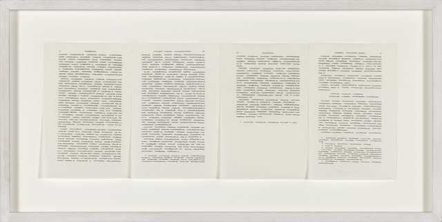 , 'Trascrizioni, Fragment,' 1975, P420