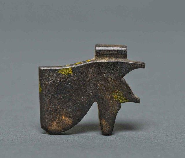 , 'Wedjat eye amulet Egyptian, Late Period,' 525-305, Legion of Honor