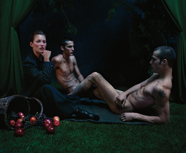 Mario Sorrenti, 'Kate Moss Luncheon on the Grass', 1999, Photography, Archival pigment print, printed 2017, flush-mounted, Phillips
