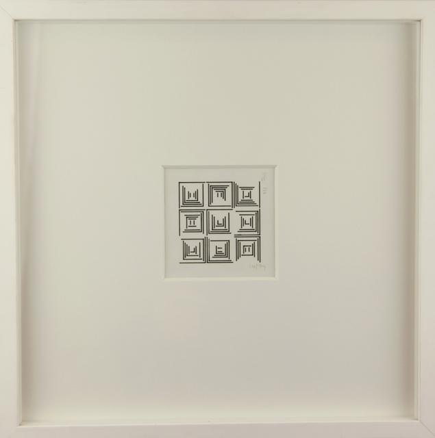 , 'Un côté de chaque carré,' 1974, ONIRIS - Florent Paumelle