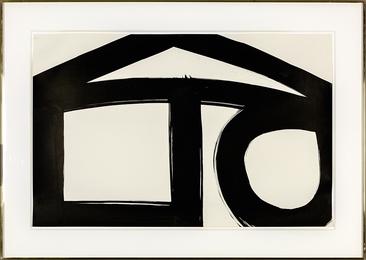 Al Held, '65-A17,' 1965, Heather James Fine Art: Curator's Choice