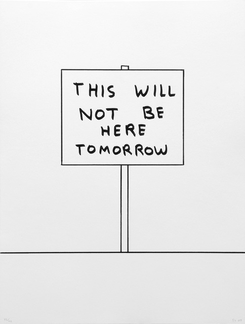 , 'This Will Not Be Here Tomorrow,' 2017, Peter Harrington Gallery