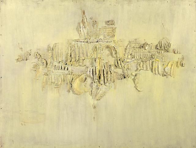 Hans Bischoffshausen, 'Fossil 12', 1958, Galerie Kovacek