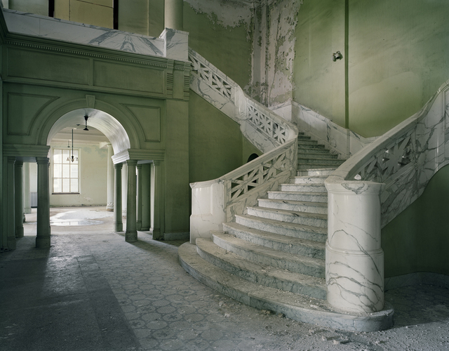, 'Lobby of Mead Building, Yankton State  Hospital, South Dakota,' 2008, Benrubi Gallery