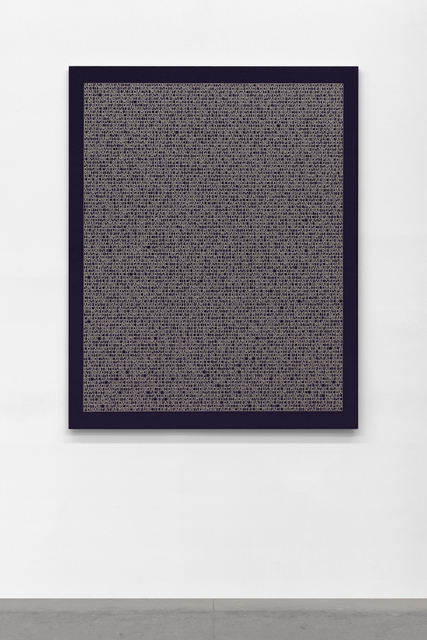 , 'Desmantelando a Gorostiza (Poema Frustado) III,' 2018, Galería OMR