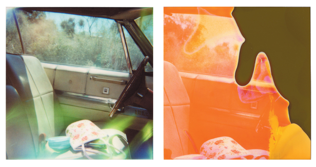 Stefanie Schneider, 'Guns´n Roses, diptych', 2005, Photography, Analog C-Print, hand-printed by the artist on Fuji Crystal Archive Paper, based on a Polaroid, not mounted, Instantdreams