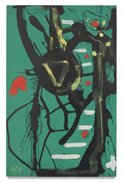 , 'Black Form,' 1946, Miles McEnery Gallery