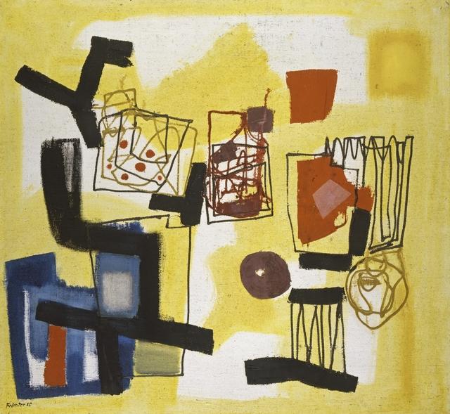 , 'Garten-Teile,' 1955, Galerie Utermann