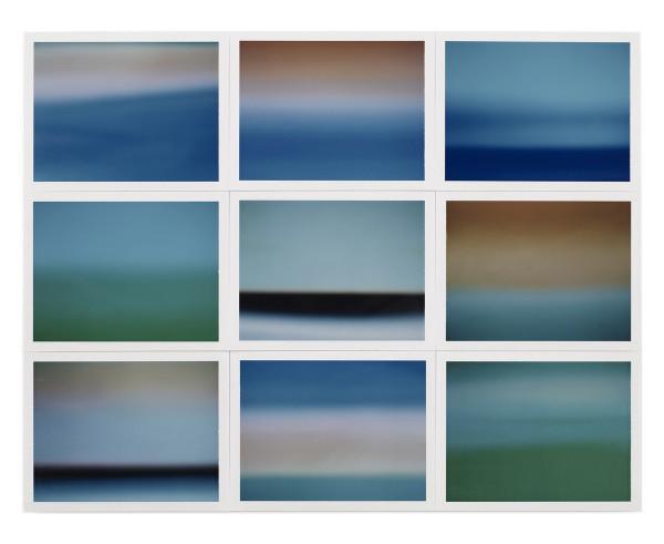 , 'Horizon, étude couleur #1,' 2015, Galerie Thierry Bigaignon