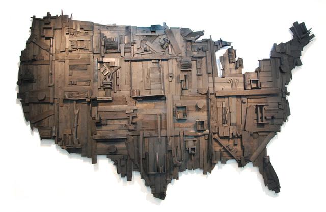 , 'My Big Black America,' 2015, C. Grimaldis Gallery