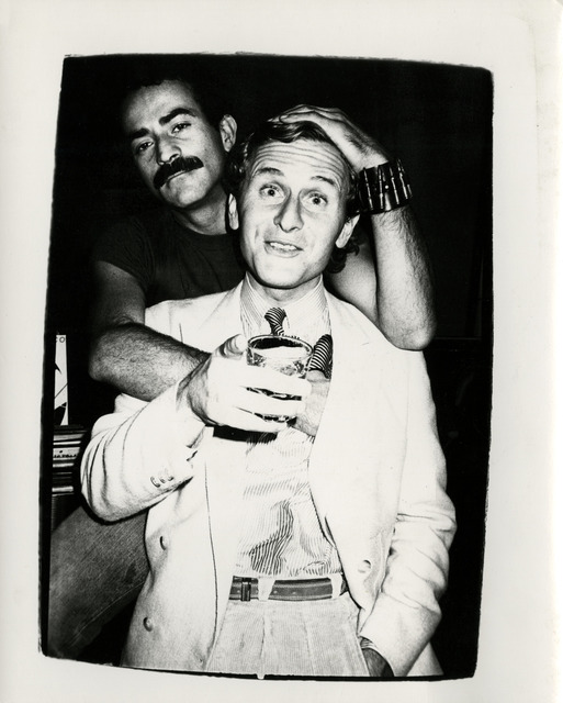 Andy Warhol, 'Thomas Ammann with Victor Hugo ', ca. 1980, Hedges Projects