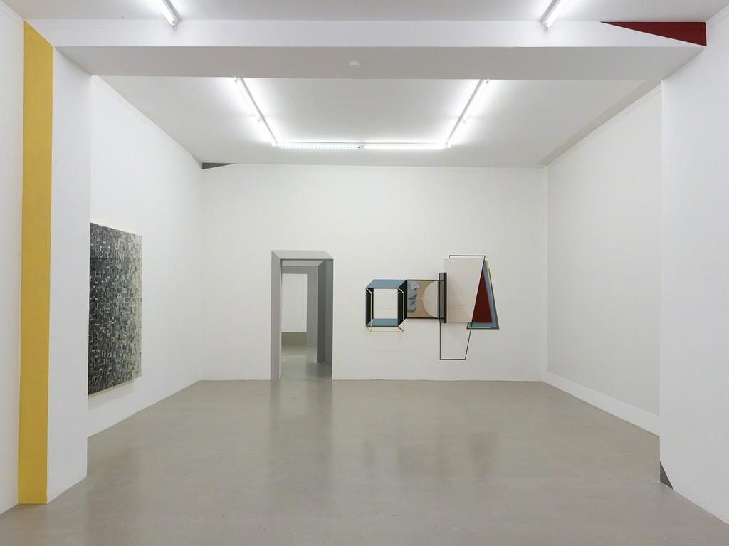"""installation view """"Fei's Sphären"""", Kadel Willborn, Düsseldorf, Germany, 2017."""