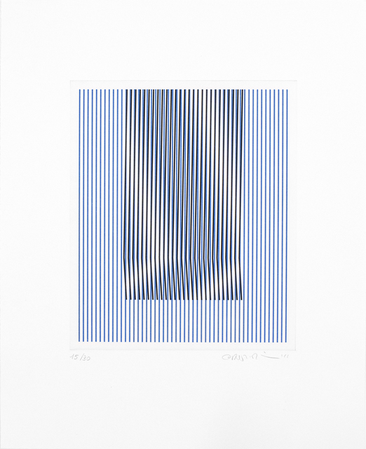 Carlos Cruz-Diez, 'Induction du Jaune St. Alban 1', 2015, Goya Contemporary/Goya-Girl Press