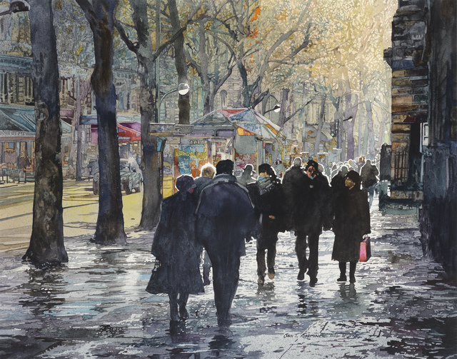 , 'December Light, Paris,' , Stremmel Gallery