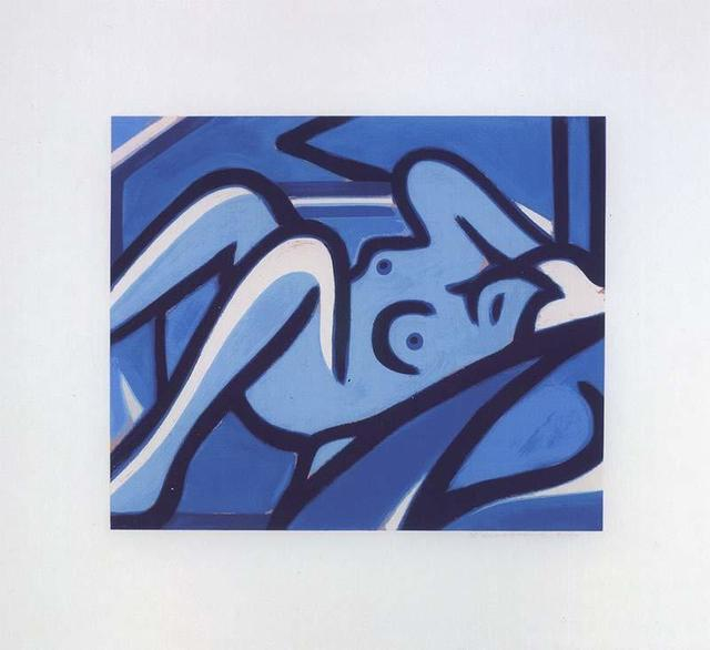 , 'Blue Nude,' 2000, Untitled Projects
