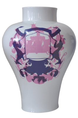 , 'Blue, White and Pink,' 2011-2012, Shanghai Gallery of Art
