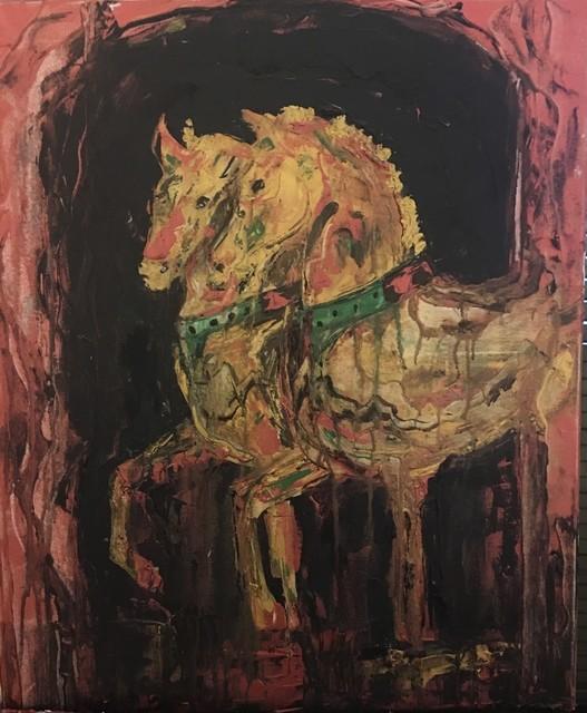 , 'Byzantine horses,' 2019, ACCS Visual Arts