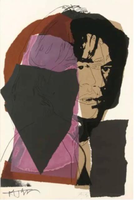 Andy Warhol, 'Mick Jagger F.S. II 139', 1975, Print, Screen print, Lush Art Agency