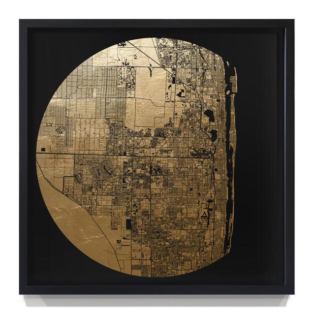 , 'Mappa Mundi Palm Beach,' 2018, Art Unified Gallery