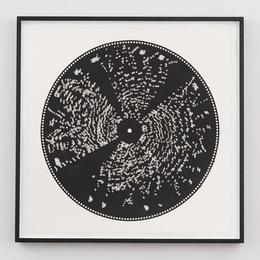 Untitled (Metal Music Box Disc Print)
