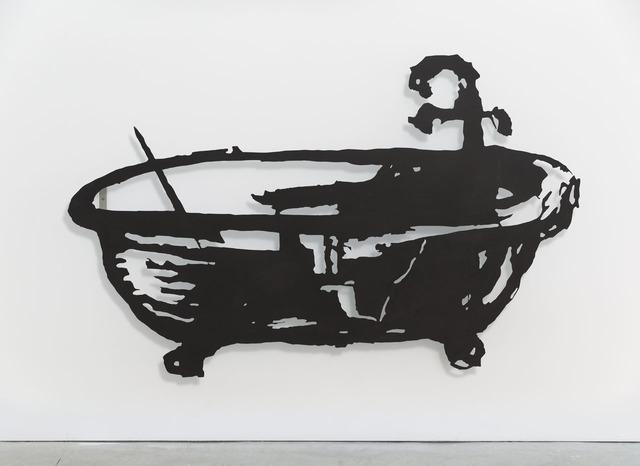 , 'Silhouette 50 (Bath),' 2016, Lia Rumma