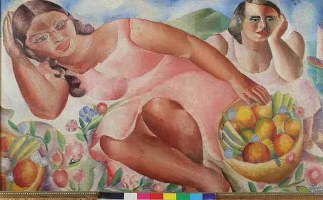 , 'Mulheres com frutas,' 1932, MALBA