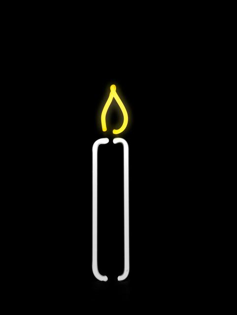 , 'Argon Candle,' 2013, Galerie Krinzinger