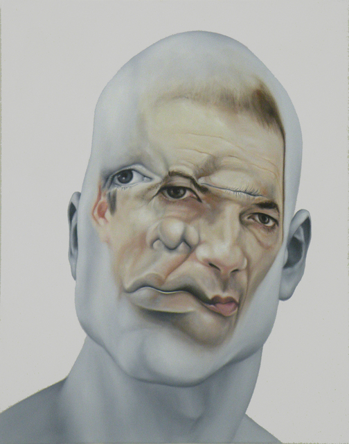 , 'Face FS152 The Artist H.Ic,' 2013, Galerie Richard