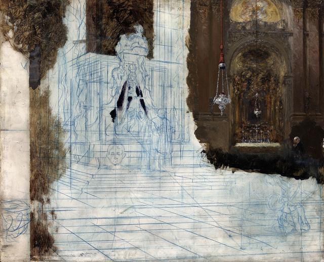 , 'Altar in a Baroque Church,' 1880-1890, The Metropolitan Museum of Art