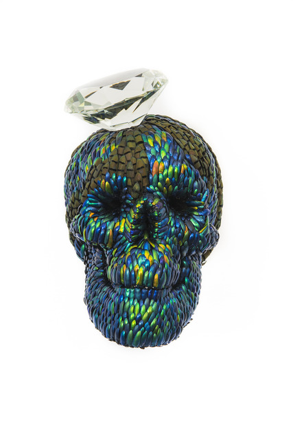 , 'Skull with Diamond,' 2013, PinchukArtCentre