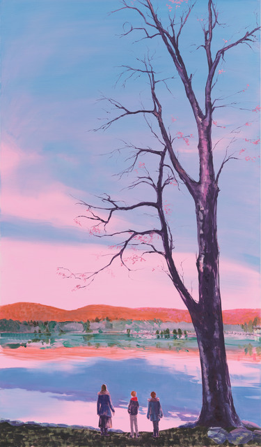 , 'Pink Sky Evening,' 2018, Tayloe Piggott Gallery