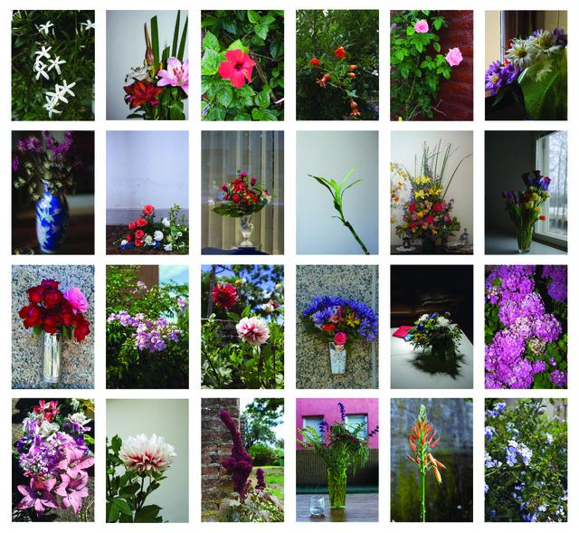 , 'Flowers,' 2015, Isla Flotante