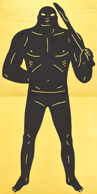 Cleon Peterson, 'Untitled (Soldier)', 2015, Painting, Acrylic on panel (diptych), Rago/Wright