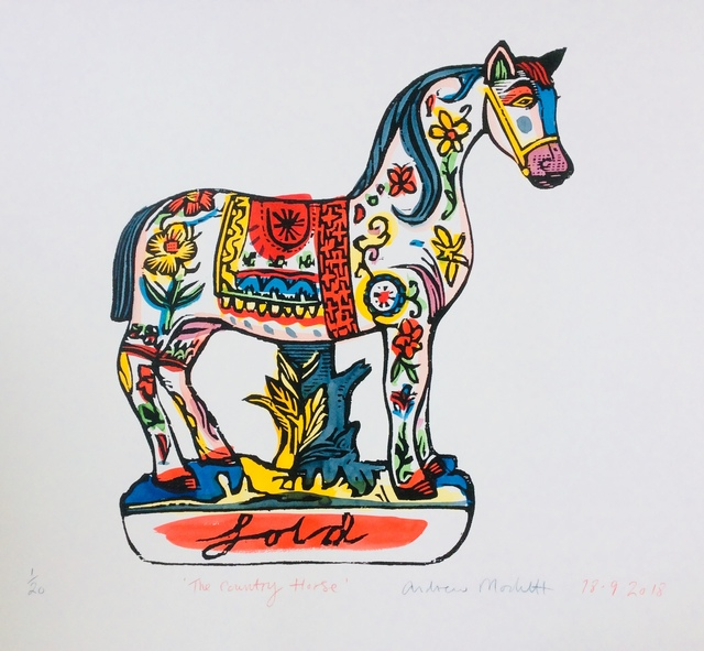 , 'The Country Horse,' 2018, Rebecca Hossack Art Gallery