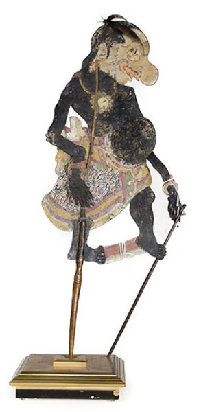Unknown Artist, 'Balinese Shadow Puppet', 19th C., David Barnett Gallery