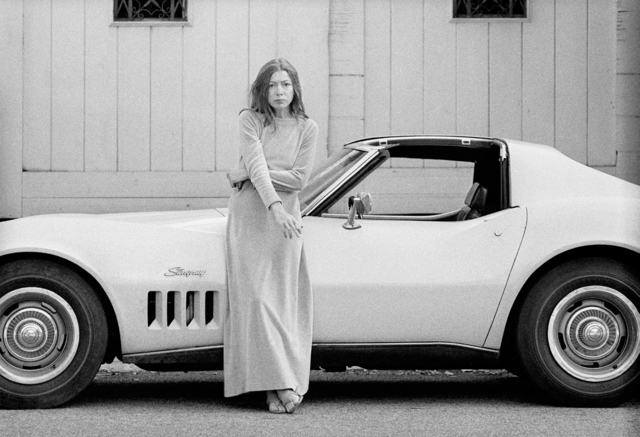 Julian Wasser, 'Joan Didion at Home in Hollywood, Time Magazine', 1968, Fahey/Klein Gallery