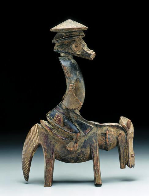 , 'Statuette équestre syonfolo (equestrian figure syonfolo),' c. 1920, Musée du quai Branly