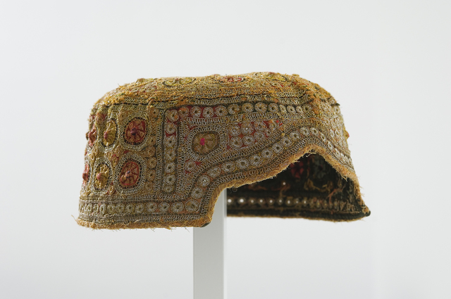 , 'Embroidered Cap,' 20th Century, West Den Haag