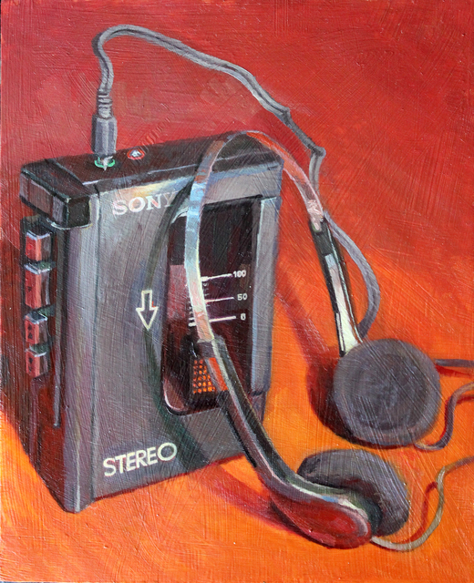 , 'SONY WALKMAN BLACK,' , saltfineart