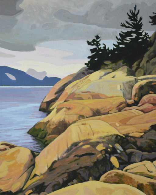 , 'Lighthouse Park,' , Madrona Gallery